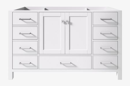 Ariel cambridge 54 in. single sink base cabinet