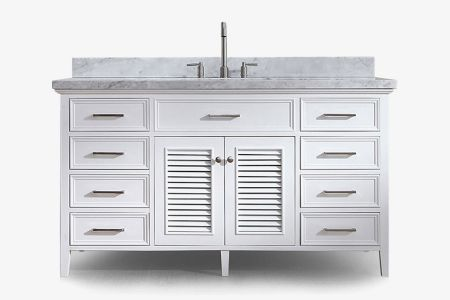 Ariel kensington 61 in. single sink vanity