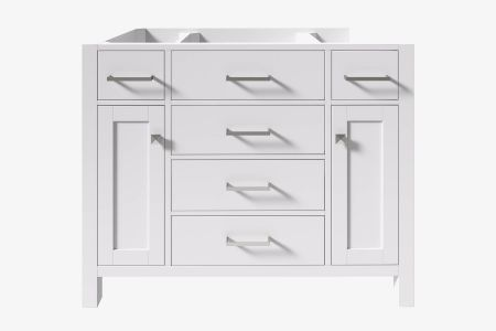 Belmont decor hampton 42 in. single sink base cabinet