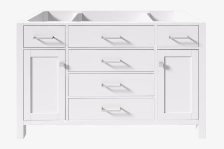Belmont decor hampton 54 in. single sink base cabinet