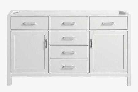 Belmont decor hampton 60 in. single sink base cabinet