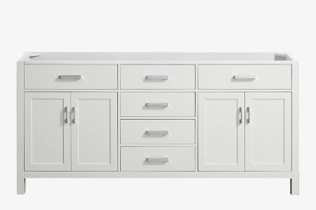 Belmont decor hampton 72 in. double sink base cabinet