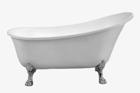 Ariel platinum 59 in. freestanding bathtub